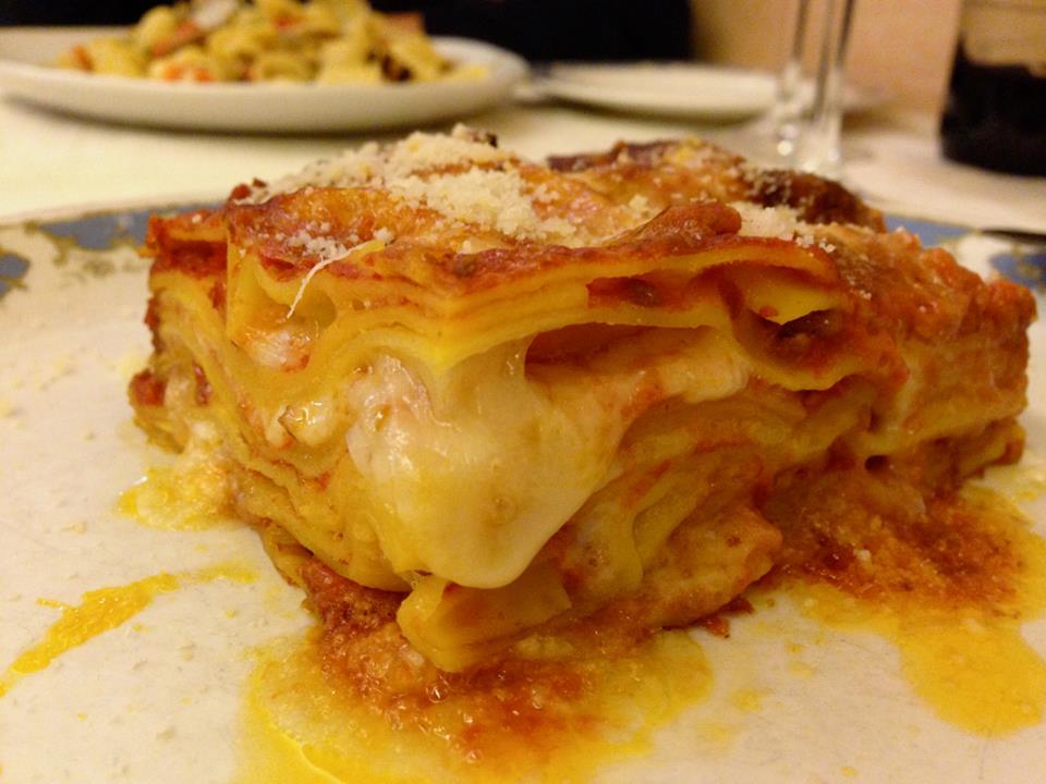Lasagna Recipe From Chef Francesca In Rome